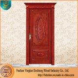 L'intérieur luxe Desheng acajou porte en bois massif