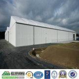 Almacén de la estructura de acero de la pared del panel de emparedado