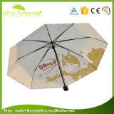 Popolare pieno del metallo di Balck dell'anti ruggine che fa pubblicità all'ombrello
