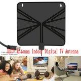 Антенна HDTV DTV HD/UHF/VHF цифров крытая плоская TV