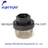 Único filtro de sução do aço inoxidável da camada para Graco