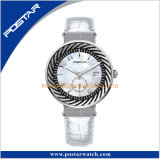 Swiss Ronda Fashion Lady Watch Mop montre à quartz montre-bracelet de diamants