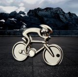 Bicicleta de metal Llavero de regalo de promoción