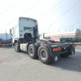 索引車Euro2 336/371HPのSino 6X4トラクターのトラックかトレーラーヘッド
