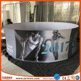 Круглый потолочный висящих баннеры для конвенций и события