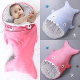 Shark Shaped Knitting machine Infant Baby Bunting Sleeping Bag