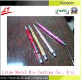 CNC, der für Aluminiumc$kugel-feder mit der Anodisierung auf Unterschied-Farbe maschinell bearbeitet