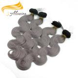 Волосы волос оптовой дешевой девственницы индийские глубоко курчавые волнистые