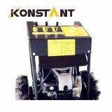 Le mini dumper de emboutage hydraulique d'opération facile avec E-Démarrent