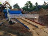 Métodos aluviales del separador de la minería aurífera