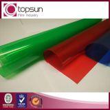 film normal en plastique coloré de PVC d'espace libre de 0.05mm-0.3mm pour des dépliants de fichier