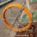 cable de los 300m Threader, serpiente Rod de FRP