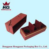 La caja de regalo de papel por el perfume