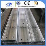 Material de construcción galvanizado de la correa de la estructura de acero C