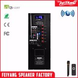 Feiyang/Teimeisheng 15インチの無線Mic Fy15が付いている携帯用Bluetoothの再充電可能なスピーカー