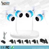 Sistema de CCTV roteador WiFi 4CH Kits de gravador de vídeo em rede