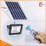 Im Freien Solarstraßenlaterne-Solarflut-Licht mit Fernsteuerungs
