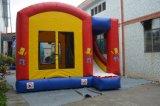 Combinado Bouncy de salto inflável do castelo do veículo com corrediça (T3-104)