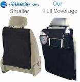 Protector del asiento trasero de las esteras del retroceso de la alta calidad con el sostenedor de la Yo-Pista y el bolsillo claros del acoplamiento