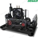Kundenspezifischer Hochdruckkolben-Luftverdichter mit Dieselmotor