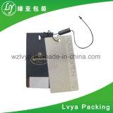 Etiqueta tejida frecuencia ultraelevada impresa lavable de la caída de la ropa de RFID