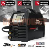 Ordinateur portable compact de 4-en-1 inverter welding Machine MMA/Stick/soudeur TIG et MIG