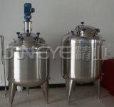En acier inoxydable ou de la vapeur électrique circulant cuve de mélange de lotion de chauffage
