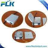 FTTH FTTX piso de fibra óptica a junção da caixa de tomada de distribuição
