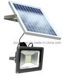 40のLEDのリモート・コントロール屋外の太陽庭ランプの明るさの調節可能な太陽洪水ライト