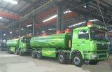 El tanque del cenagal de Shacman 8X4 25 toneladas del trineo de carro líquido del transporte