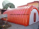 Aufblasbares medizinisches Zelt im Notfall