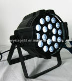 1 LED 급상승 동위 사건 디스코 당 점화에 대하여 10W 18 피스 RGBW 4