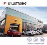 Willstrong Spectural Panel Compuesto de Aluminio de color para la construcción de edificios