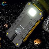 De waterdichte Externe Batterij van de Telefoon Nieuwe 10000mAh de Bank van de ZonneMacht