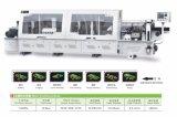 가구 생산 라인 (ZOYA 230C)를 위한 코너 트리밍을%s 가진 가장자리 Bander 자동적인 기계