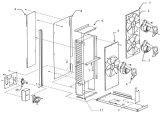 macchina commerciale del creatore di ghiaccio del cubo del blocco 30t per la trasformazione dei prodotti alimentari