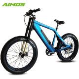 Batterie rechargeable de gras de 26 pouces pneu neige Bike/ Suspension Ebike 1000W