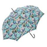 زهرة يطبع مظلة مستقيمة مع خطّاف جلد مقبض, كاملة عمليّة بيع هبة مظلة