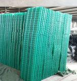 Grade de erva de plástico usados para estacionamento de automóveis