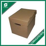 卸売価格の習慣によって印刷される波形の収納箱