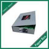 hecho personalizado de la fábrica de cajas de cartón de colores a la venta