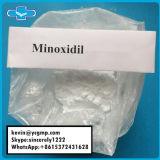 Pó cru farmacêutico Minoxidil do tratamento da perda de cabelo de 99% CAS 38304-91-5