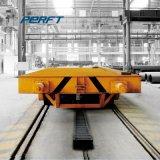 L'industrie lourde rail motorisé de la remorque du véhicule de chemin de fer plat