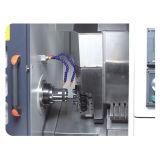 Hohe Präzision CNC-Slant Bett, das komplizierte horizontale Drehbank-Maschine dreht und prägt