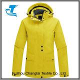Cubierta exterior impermeable forro polar chaquetas de snowboard