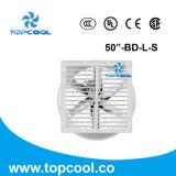 """"""" ventilateur de refroidissement fixé au mur de ferme de porc de la fibre de verre 50"""