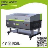 80W 9060cortador do laser de CO2 com três estilo da cabeça laser gravura a laser da Máquina