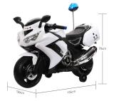 3 viagem de eléctrico da Roda de motos da polícia de brinquedos de plástico para crianças