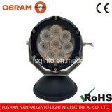 Indicatore luminoso rotondo del lavoro di 40W LED dei nuovi prodotti 4.7 '' per macchinario resistente