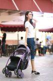 Helfer-faltbarer leichter Babypram-Aluminiumbaby-Spaziergänger der Mammas guter